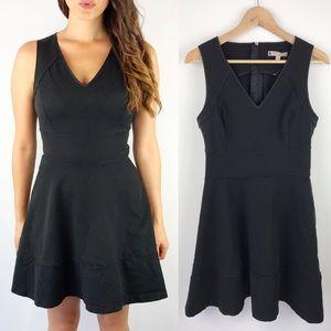 Banana Republic Black Fit and Flare Dress